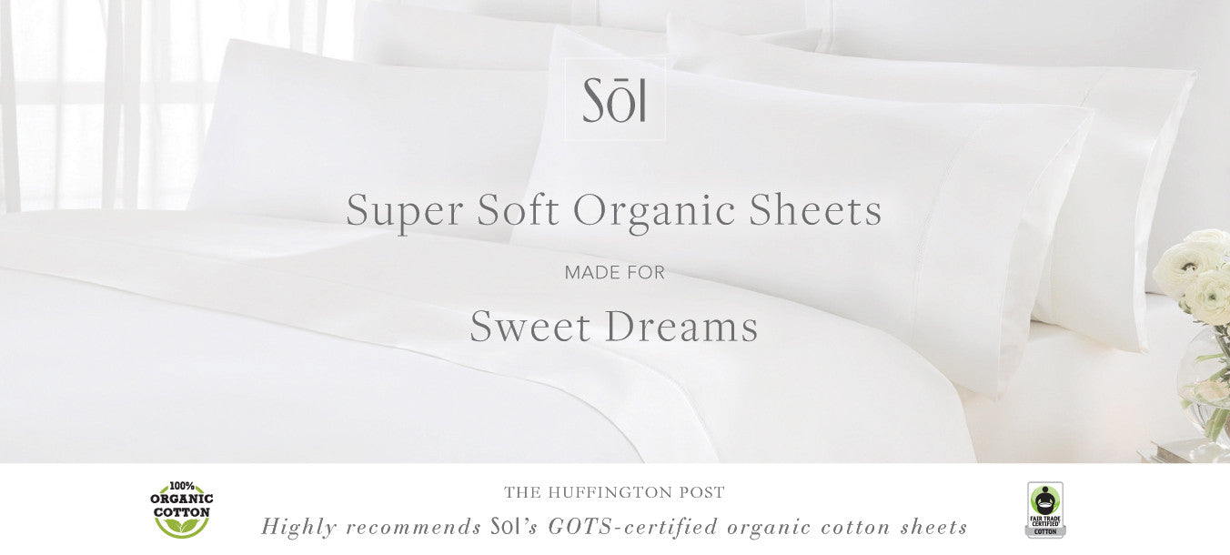 SOL Organics Fair Trade Organic Cotton Bedding