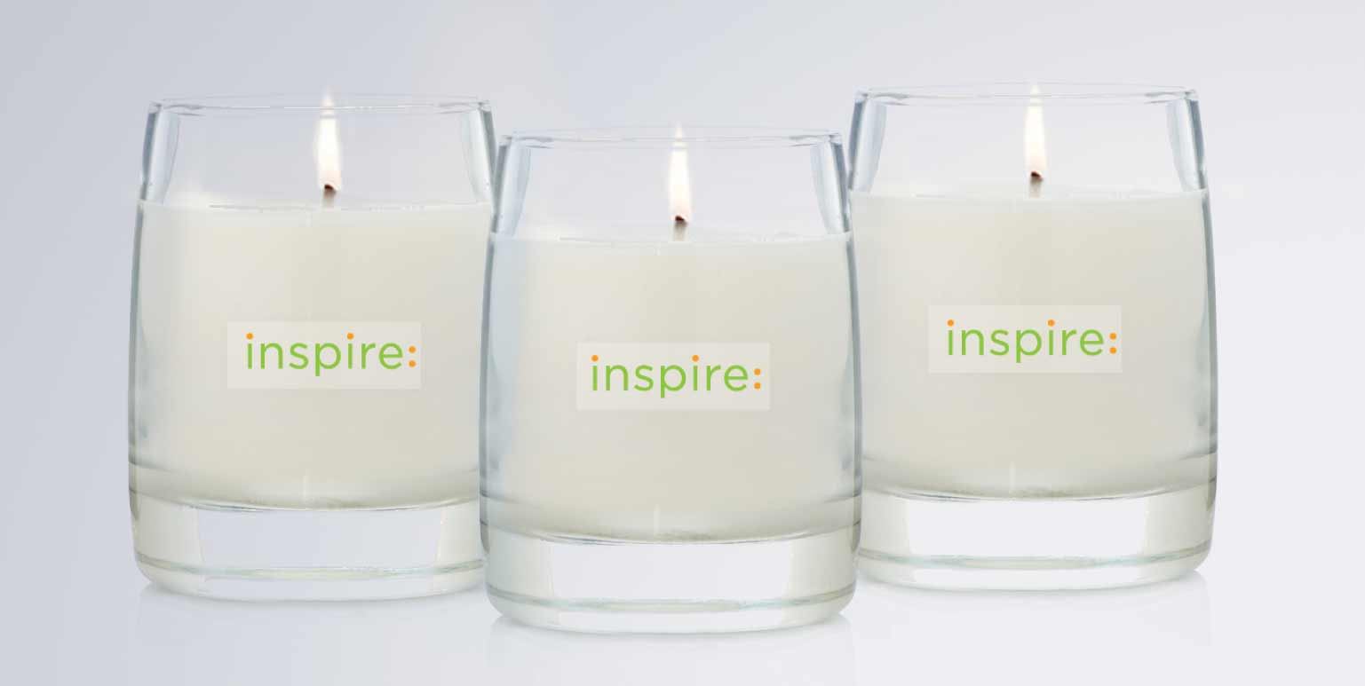Smile Inspire Natural Soy Essential Oil Cotton Wick Candles