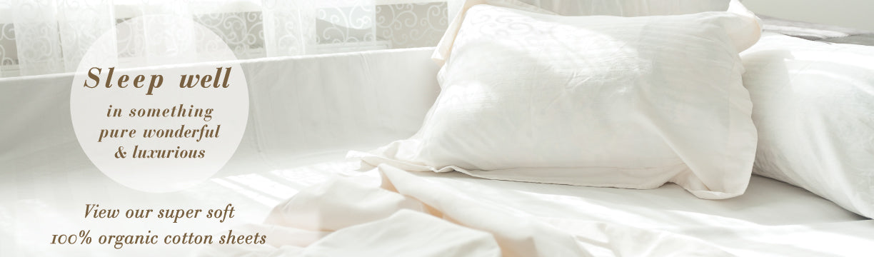 Organic Cotton Bed Linens Collection