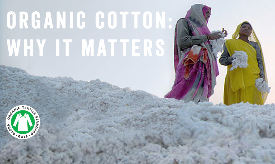 Organic Cotton, why it matters