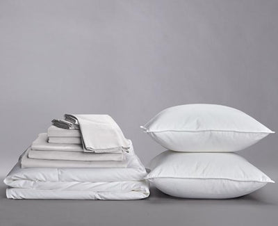 Crisp Percale Organic Cotton Down Home Bundle