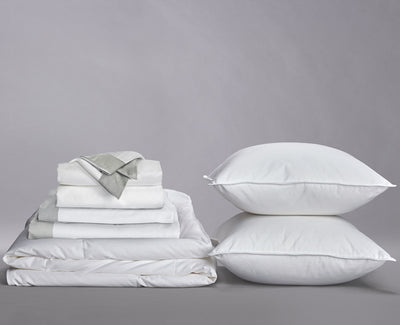Sateen Banded Organic Cotton Down Home Bundle