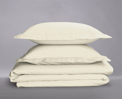 Percale Organic Duvet Cover Set