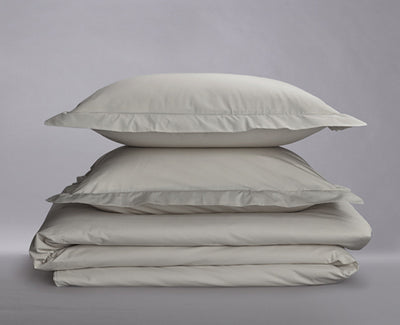 Crisp Percale Organic Duvet Cover Set