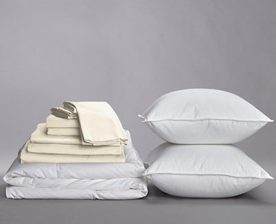 Sateen Organic Cotton Down Home Bundle