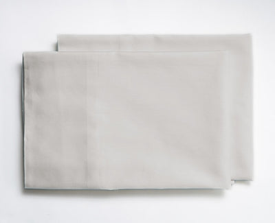 Crisp Percale Organic Pillowcases