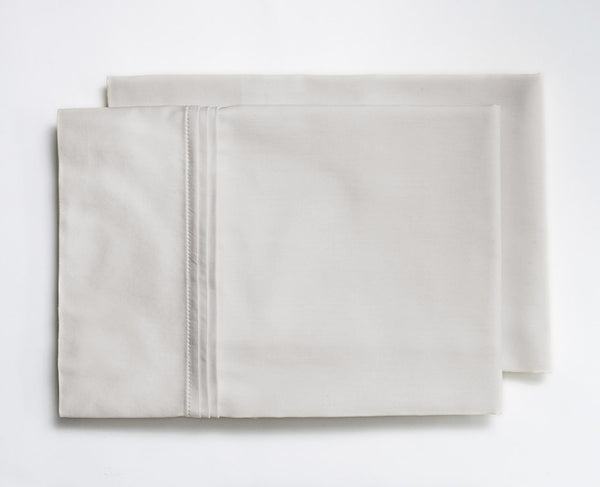 dblankstyle Pillows-Folded-Dove-Grey-Pleated_grande Fall Into a New Pair of Organic Sheets that Gives Back Sustain This  Sustainable Home goods Give Back Ethical Bedding