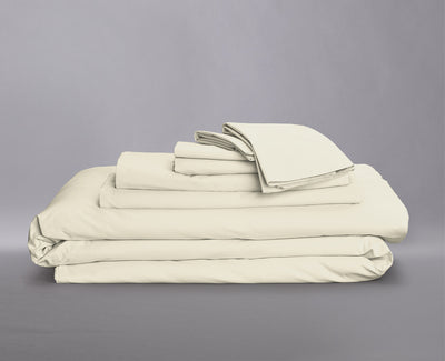 Percale Organic Bedding Bundle White