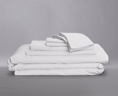 Percale Organic Bedding Bundle Ivory