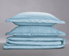Organic Duvet Cover Set Dove Grey