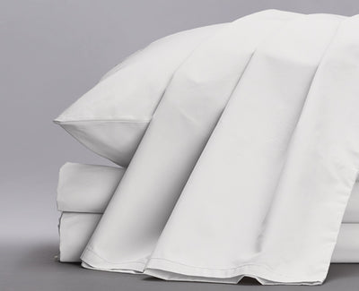 Percale Organic Sheets White