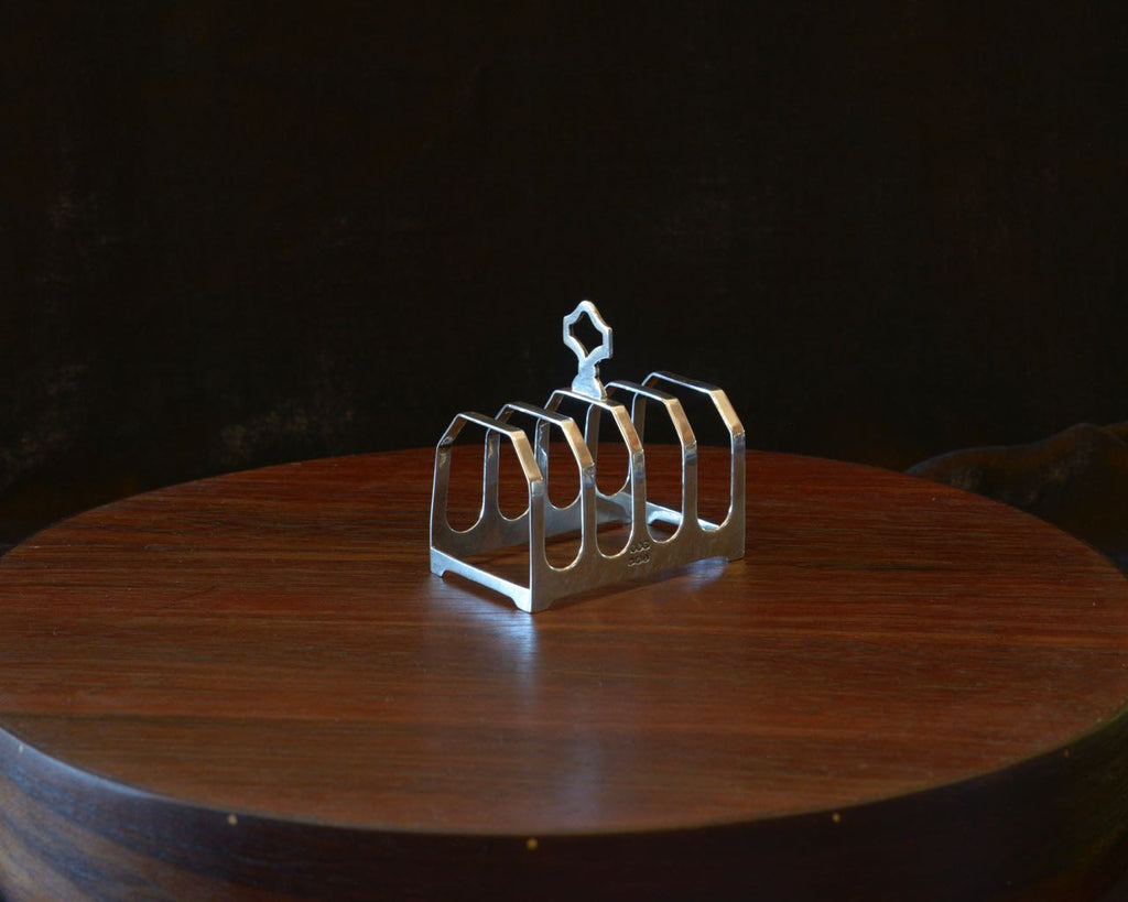 Vintage Toast Rack - Crown - sterling silver