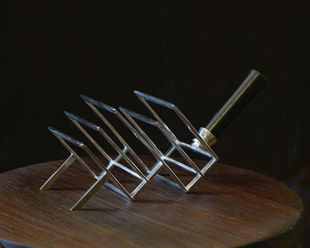 Vintage Modernist Toast Rack dresser design