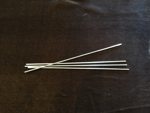 Silver Cocktail Straws