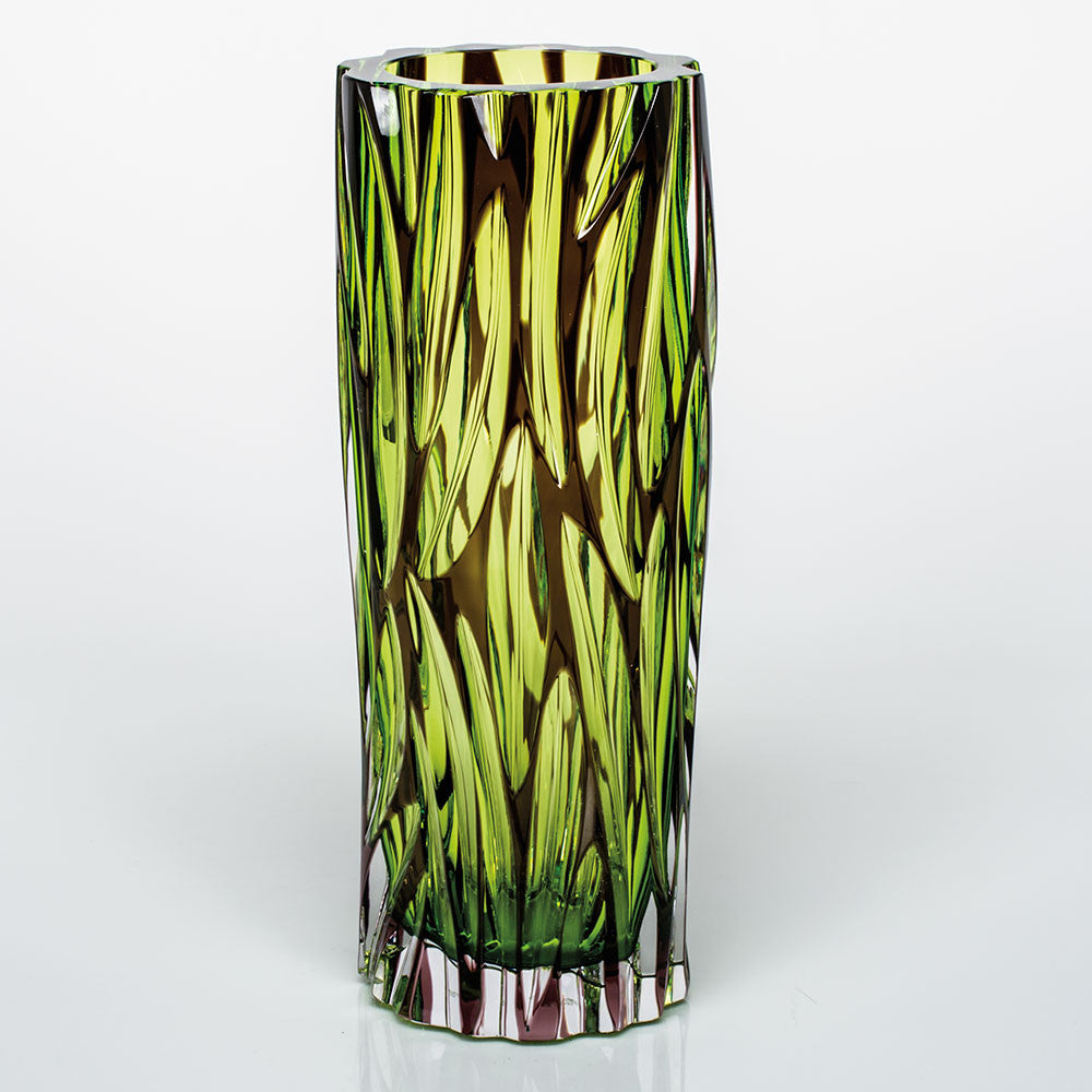 Crystal 'Wood' Vase 11.4