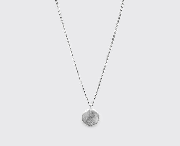 NECKLACE (SS INSET - CIRCLE)