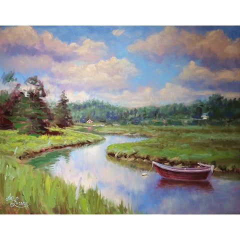 stravitzartgallery.com - Andre Lucero - Paintings - Quiet Waters