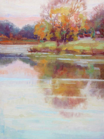 stravitzartgallery.com - Melanie Chambers Hartman - Paintings - Autumn Reflections