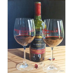 stravitzartgallery.com - Brien Cole - Paintings - America's Nebbiolo