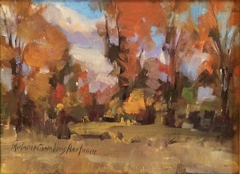 stravitzartgallery.com - Melanie Chambers Hartman - Paintings - Fall Patterns