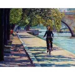 stravitzartgallery.com - Faye Vander Veer - Paintings - Along the Seine