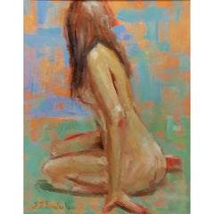 stravitzartgallery.com - Faye Vander Veer - Paintings - Contemplation
