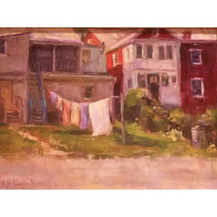 stravitzartgallery.com - Faye Vander Veer - Paintings - Monday Morning