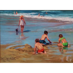 stravitzartgallery.com - Faye Vander Veer - Paintings - Outgoing Tide