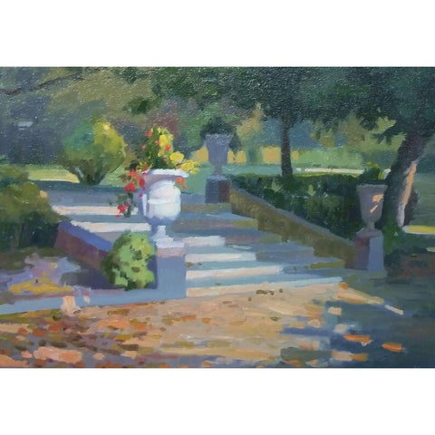 stravitzartgallery.com - Henry Florez Soler - Paintings - Spanish Steps