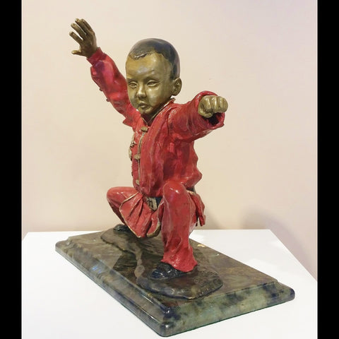 stravitzartgallery.com - Richard Stravitz - Sculpture - Birth of an Athletic Power - 1