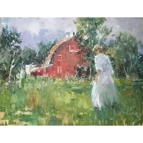 stravitzartgallery.com - Thomas McLauchlin - Paintings - Red Barn