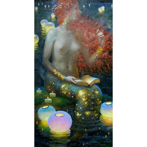 stravitzartgallery.com - Victor Nizovtsev - Paintings - Pearls of Wisdom