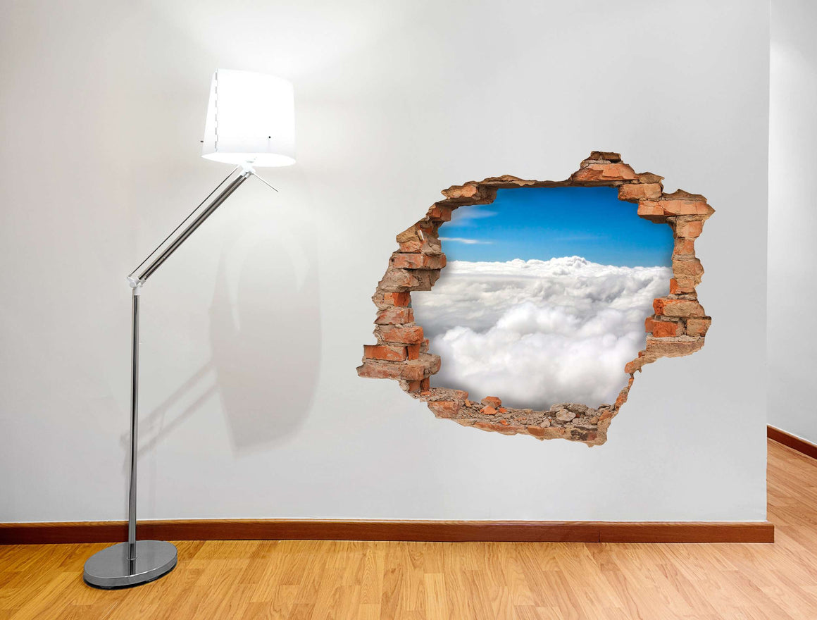 3D Art zidne naljepnice Cloud- 3D020
