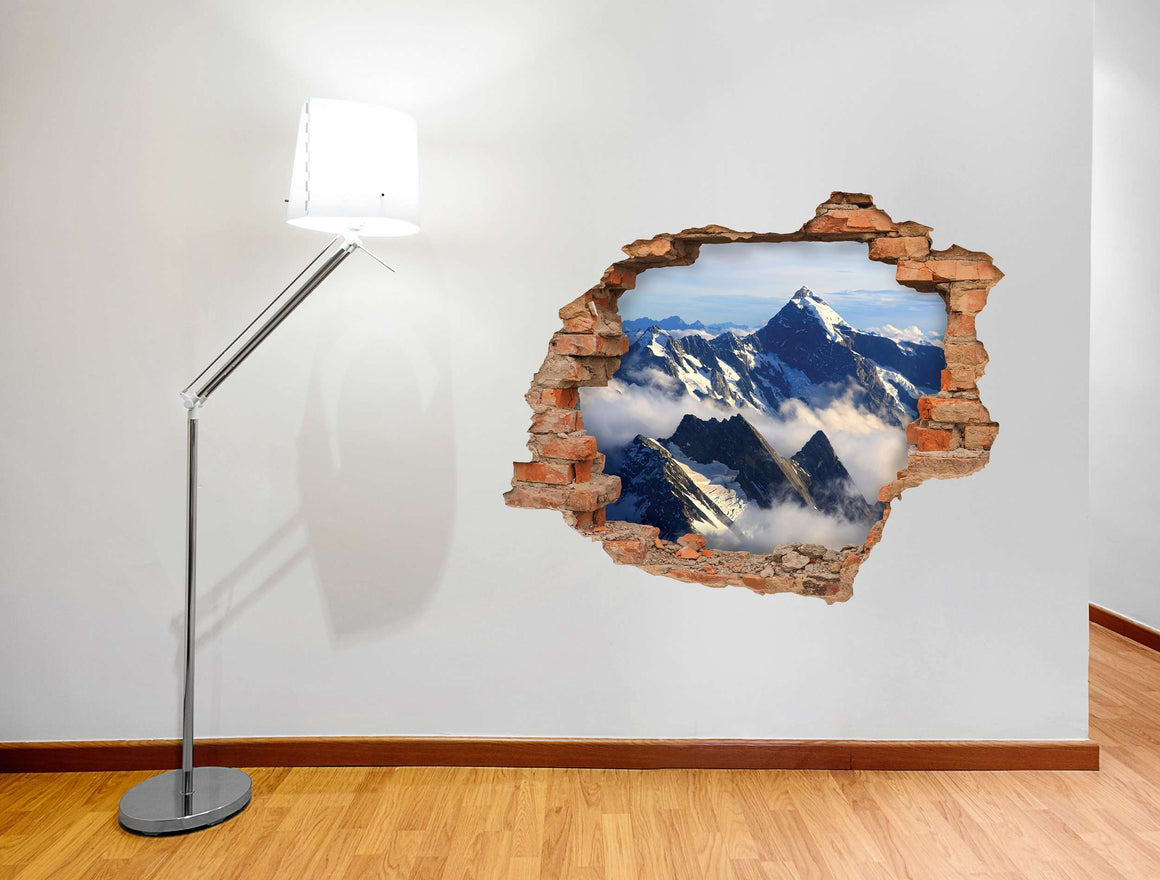 3D Art zidne naljepnice Mountain - 3D030