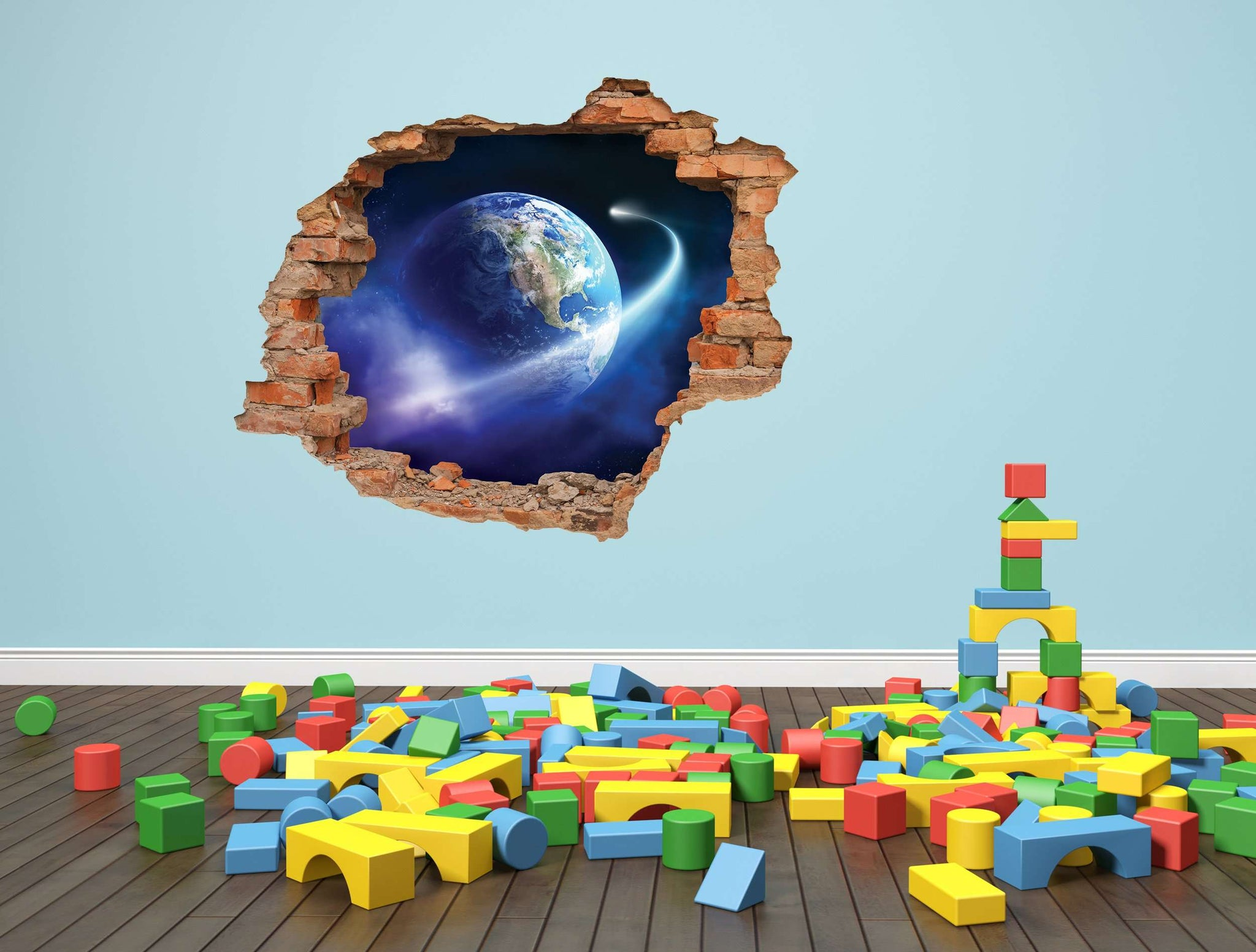 3D Art zidne naljepnice Space - 3D021