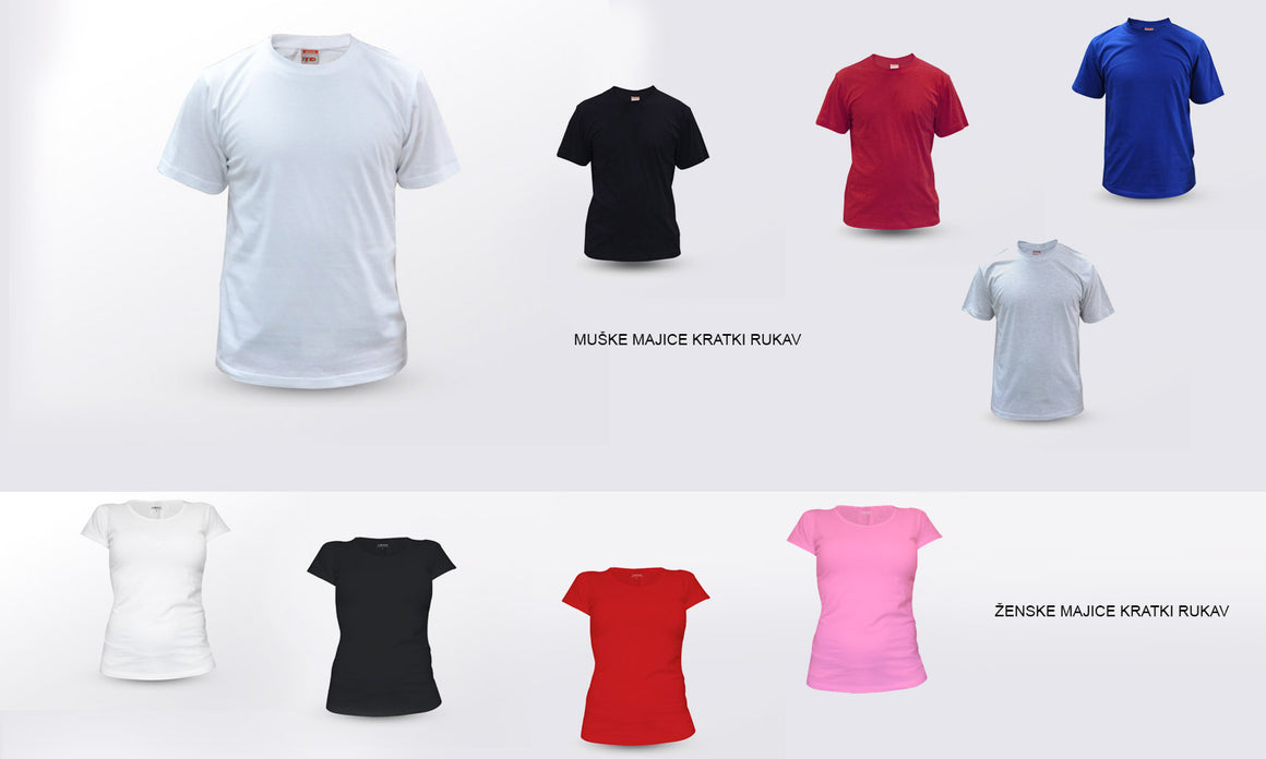 Majica Look out, T-Shirt Muška, Ženska i Dječji model 150g.  TS312