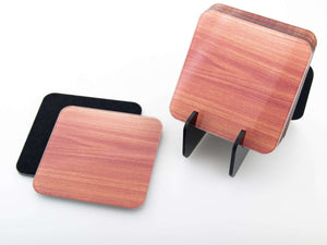 Podmetači za čaše -  Wood set  CO017