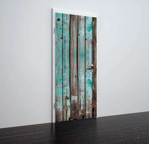 Tapete za vrata Rustical wooden doors- TA075