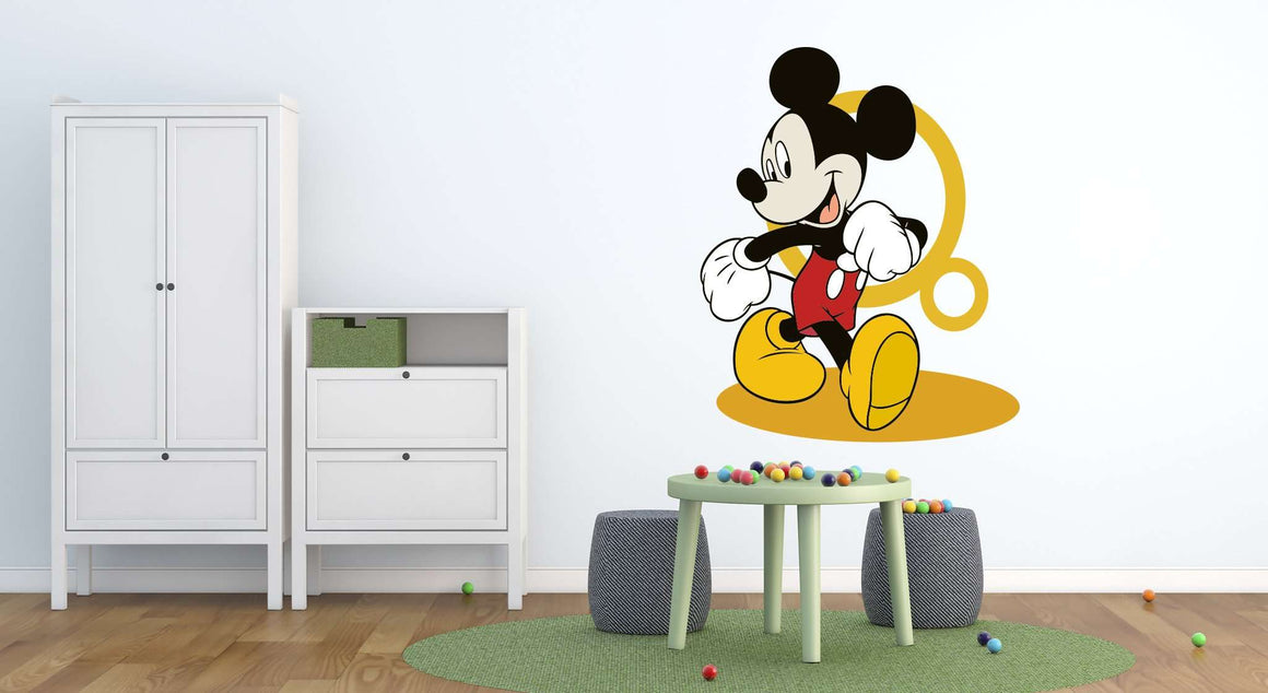 Zidne naljepnice Kids Room Mickey Mouse - KD28