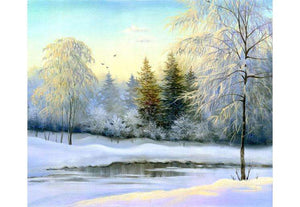 Zidne tapete  Beautiful winter SW184