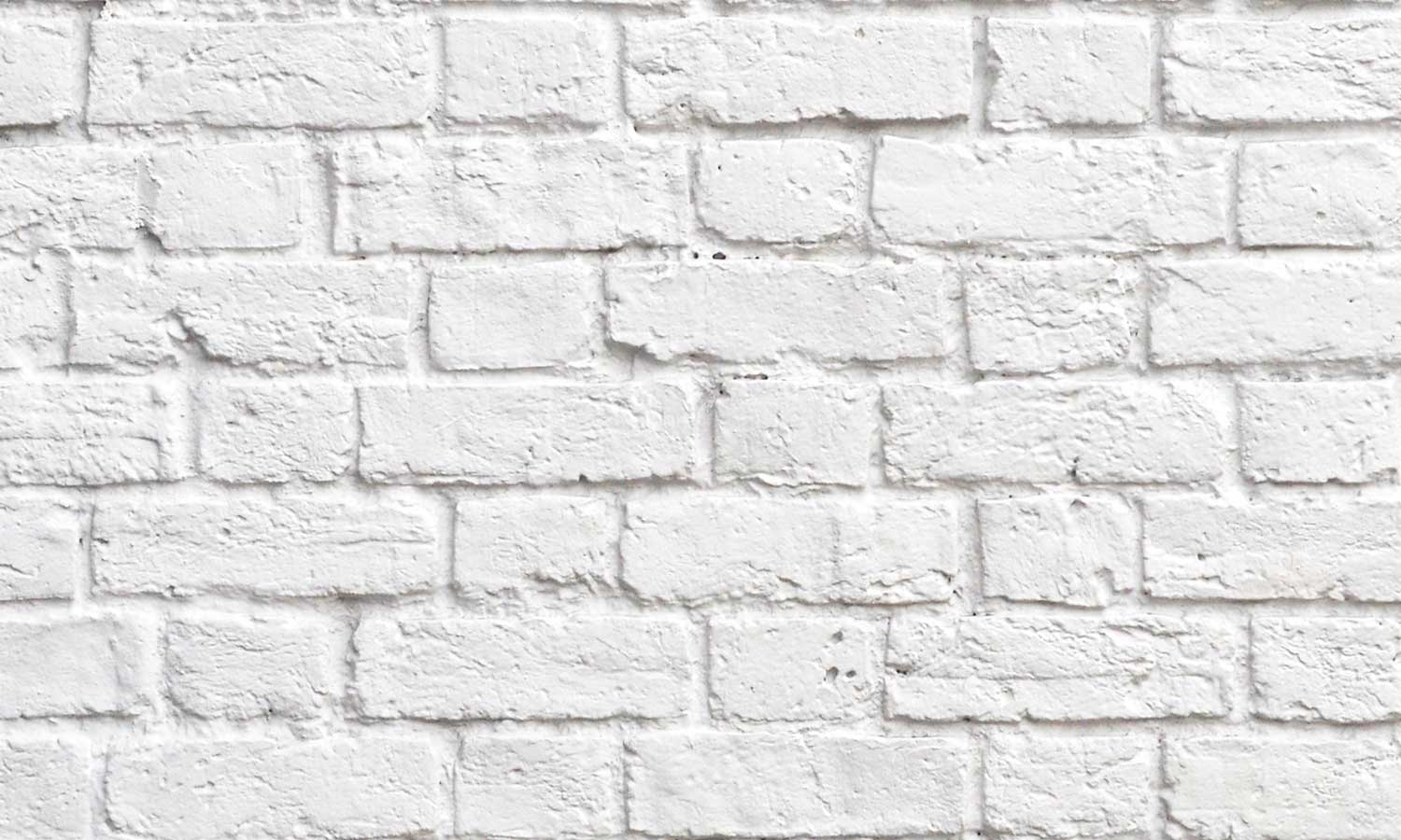 Zidne tapete White brick wall SW030