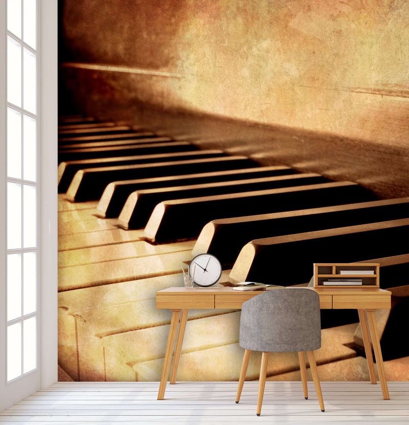 Zidne tapete Piano Keys SW168