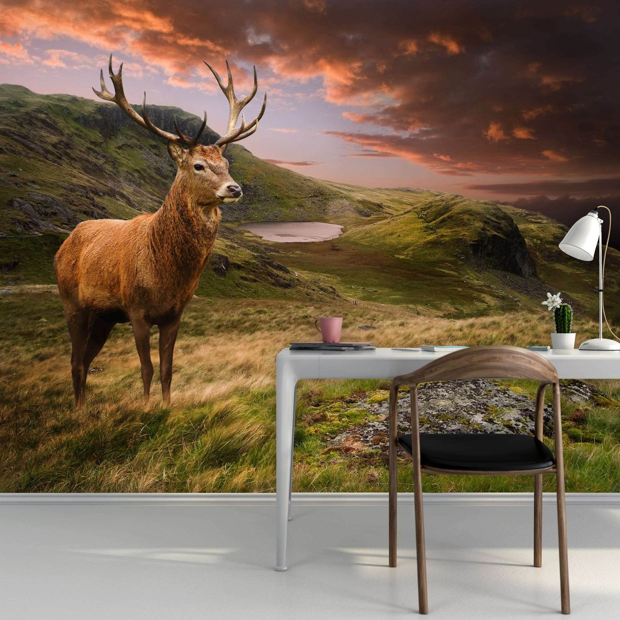 Zidne tapete Red deer II SW292