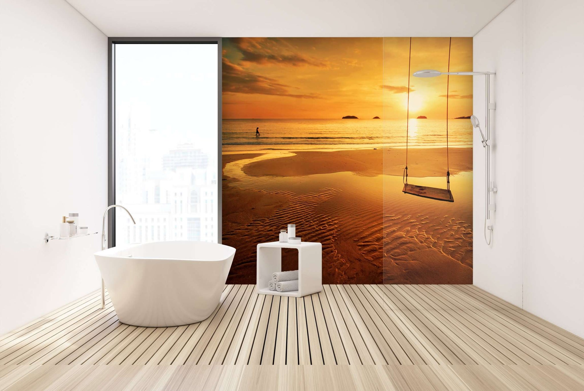 Zidne tapete Tropical colorful sunset SW296