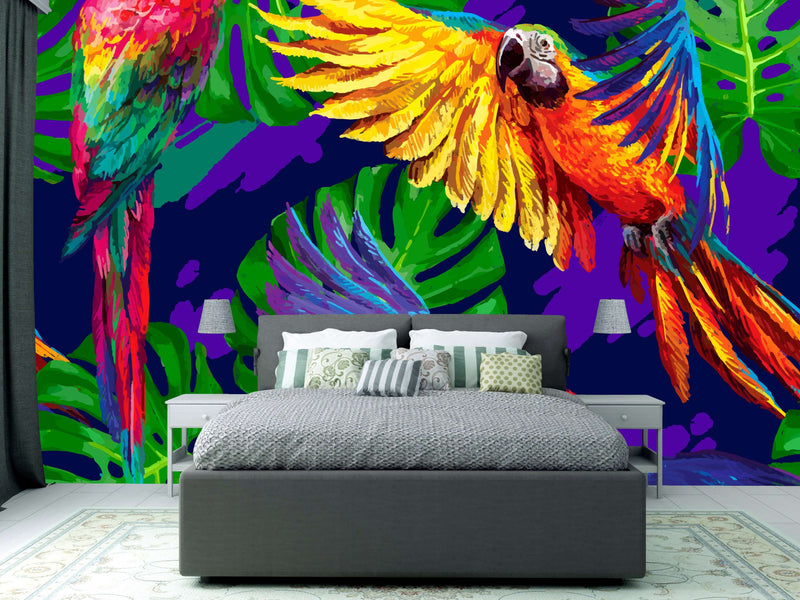 Zidne tapete  Tropical Parrots  SW555