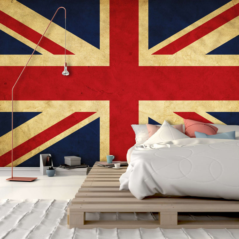 Zidne tapete UK grunge flag SW136