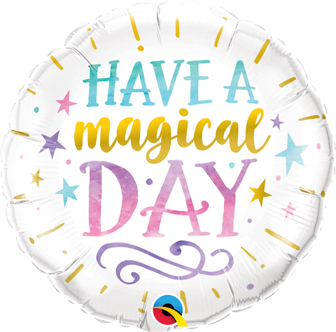 "18"" Have a Magical Day Foil Balloon"