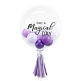 "20"" or 24"" Bespoke Bubble Balloon in Lavender colour."