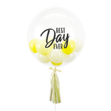 "20"" or 24"" Bespoke Bubble Balloon in Lemonade colour."