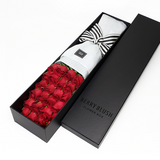 Premiere rose box with 12 or 24 stems of premium roses. Valentine's day gift. Toronto florist flower delivery.
